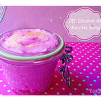 DIY: Beurre de douche girly