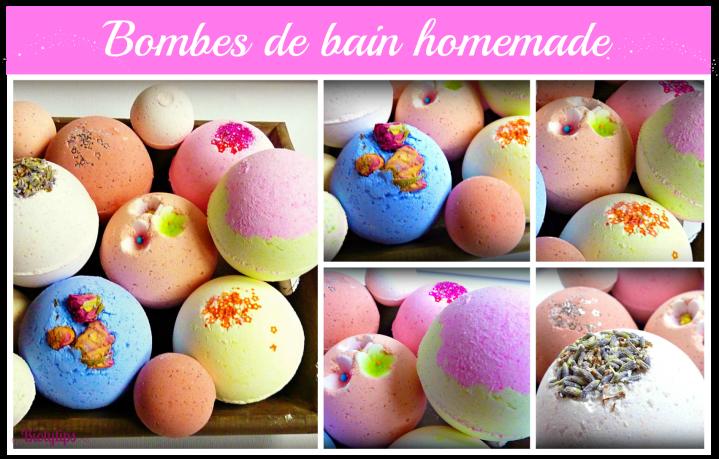 DIY : Bombes de bain Homemade pourNoël