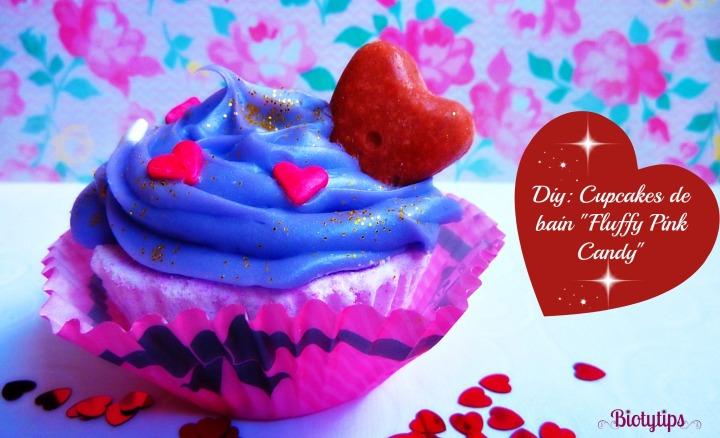 Diy: Cupcakes de bain «Fluffy Pink Candy»