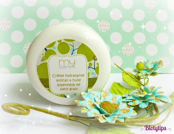 Je fais MyCosmetik: crème hydratante à l'Avocat et au PetitGrain