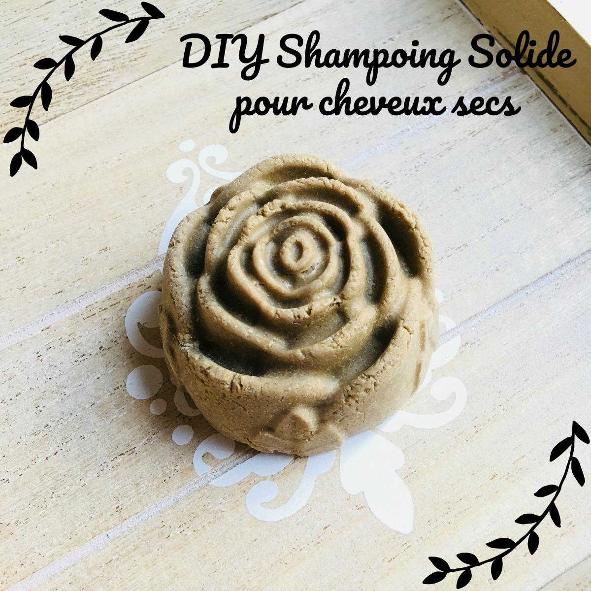 DIY: Shampoing solide pour cheveux secs