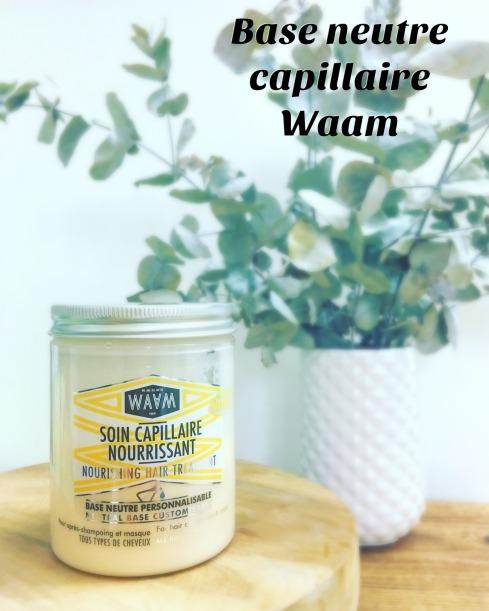 Base capillaire neutre Waam