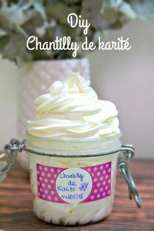 DIY Chantily de karité