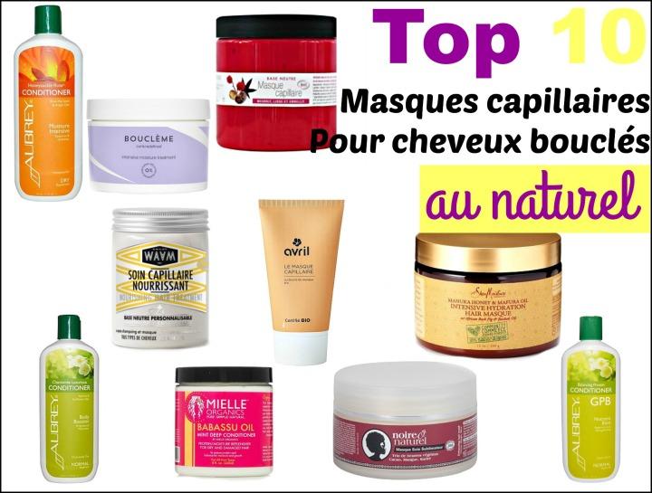 Top 10 des meilleurs masques pour cheveux bouclés/frisés/crépus aunaturel