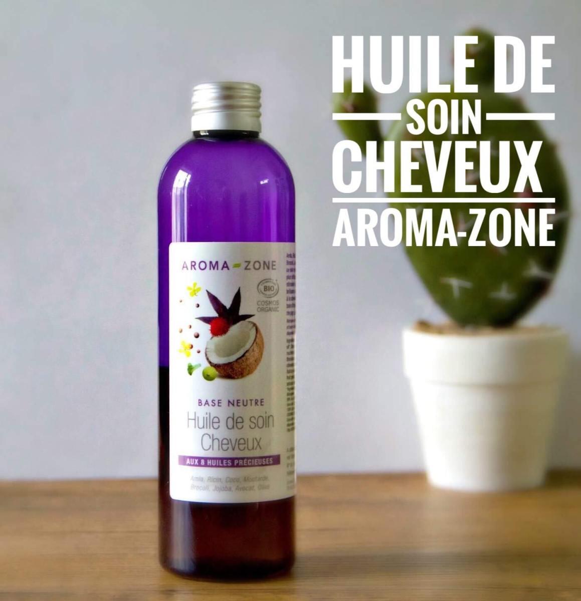 Huile de soin Cheveux BIO d'Aroma-Zone (Avis et recette inside)